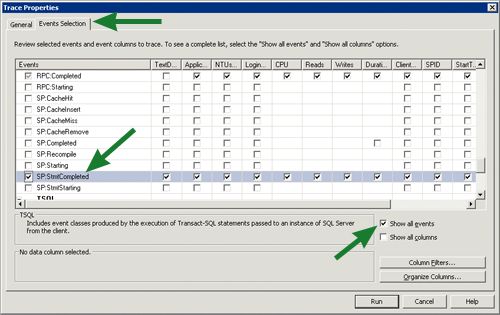 SQL Server ColdFusion Trace Setup