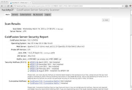 HackMyCF Screenshot