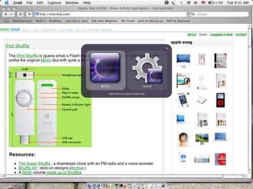 QuickSilver ScreenShot